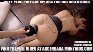 Insertion buttplug How to