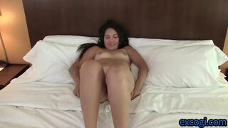 College Teen Amateur Fucked and Covered in Cum