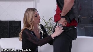 TransSensual Mandy Mitchell gives Ass to Bear Stepson