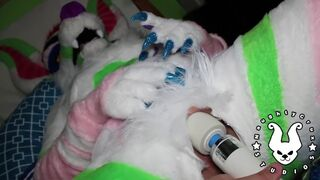 MURRSUIT: Wand Tease, Cumming, and Moaning