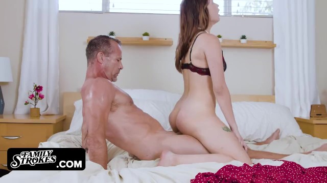 Daddy Teaches Step Daughter